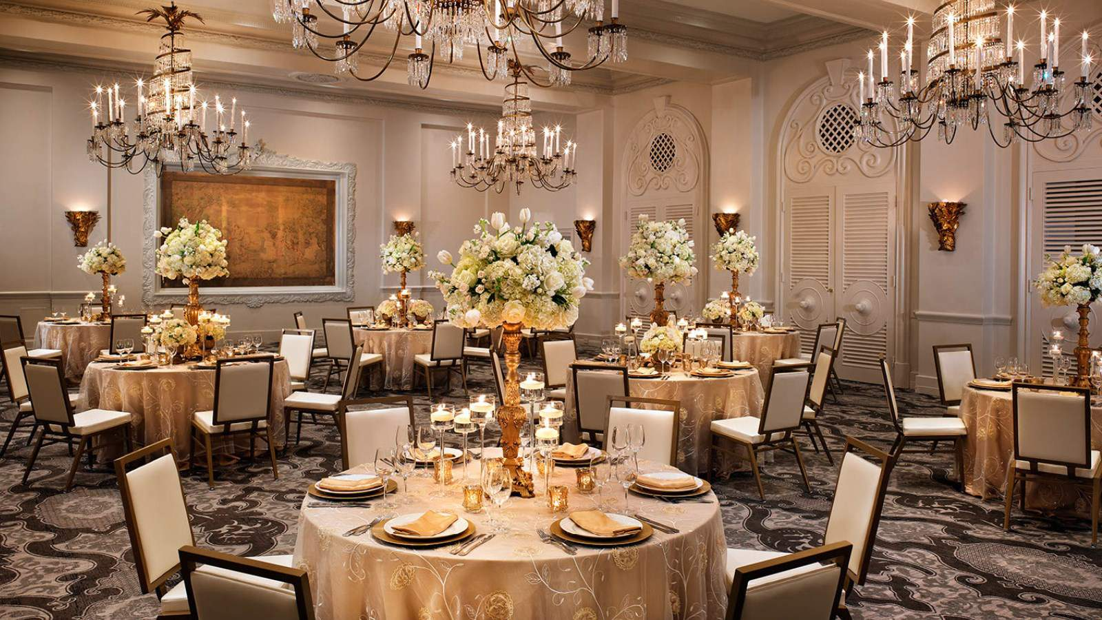 Historic glamorous san antonio wedding venue st peraux ballroom junglespirit Image collections